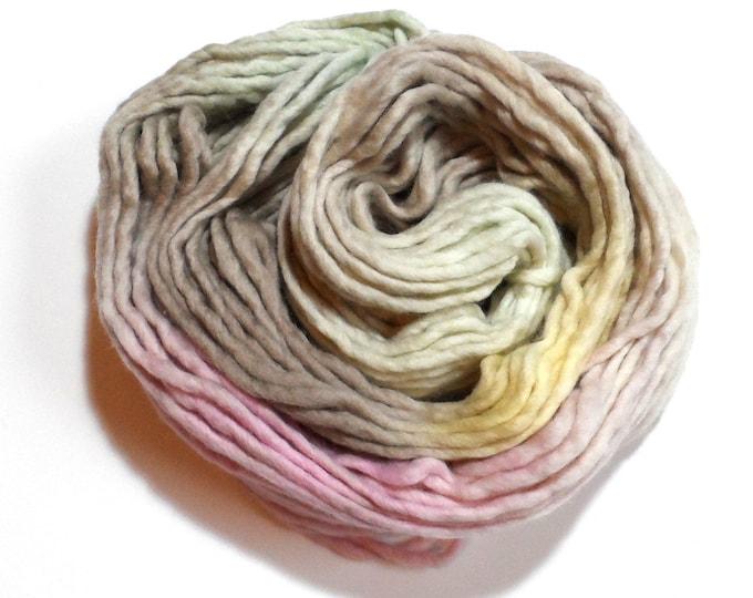 Easter Bunny Variegated Super Chunky Merino Yarn 100g Rainbow