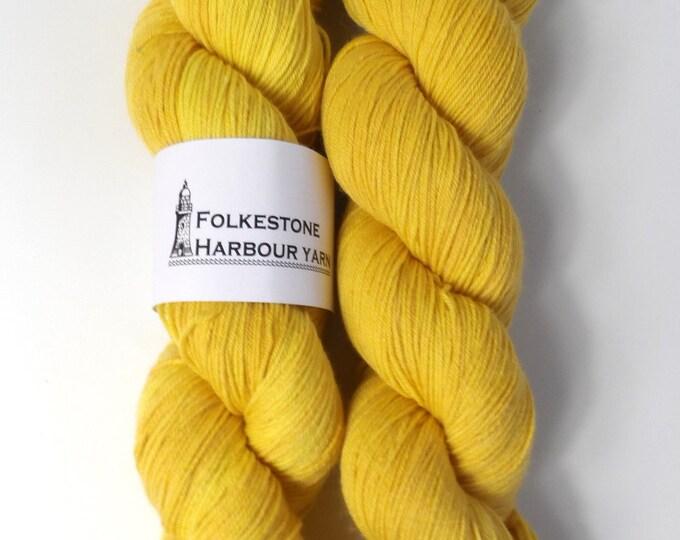 Jarman Yellow Merino Blend Sock Wool Yarn 20