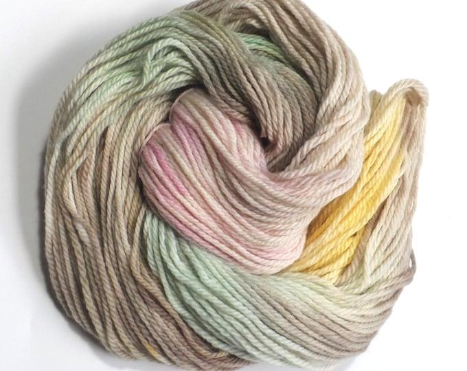 Easter Bunny Variegated Aran Merino Superwash Yarn 100g Rainbow