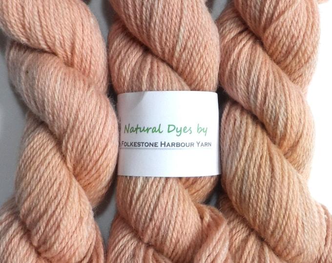 Woad Pink DK Romney Wool 50g