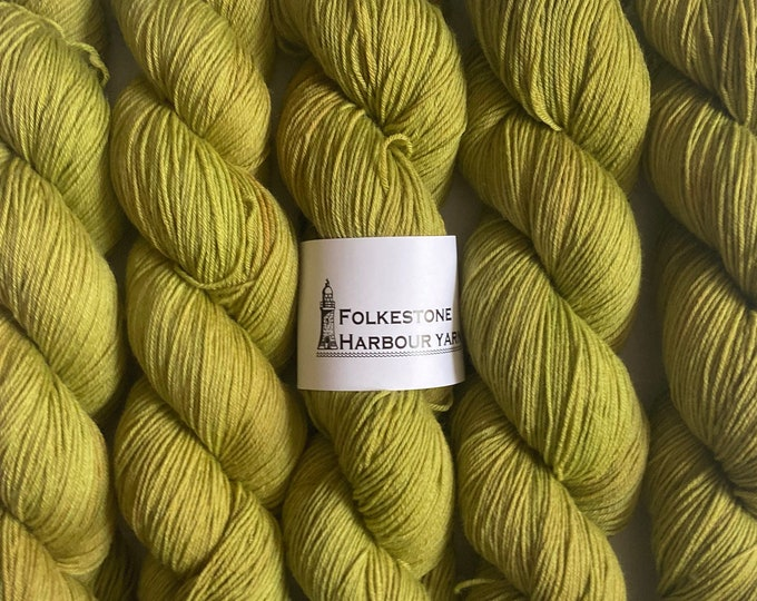 Absinthe Green Merino Blend Sock Wool Yarn #19