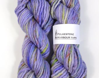 Lavender Fields Variegated Speckled Super Chunky Yarn 100g