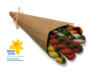 Bouquet Scarf Kit - Flower Power Fund Edition    CHARITY SPECIAL  25% to Marie Curie