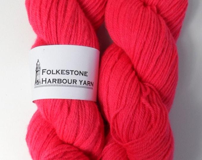 Melita Pink Wool Yarn DK Merino 31