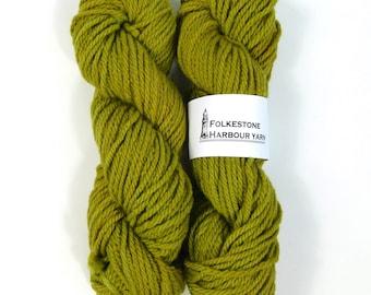 Absinthe Green Merino Chunky Wool Yarn #19