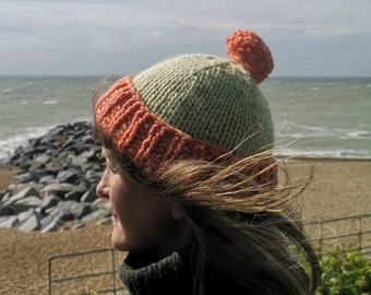 Naturally Dyed Westerly Hat Kit       3 Sizes       Choose Your Colour Combination