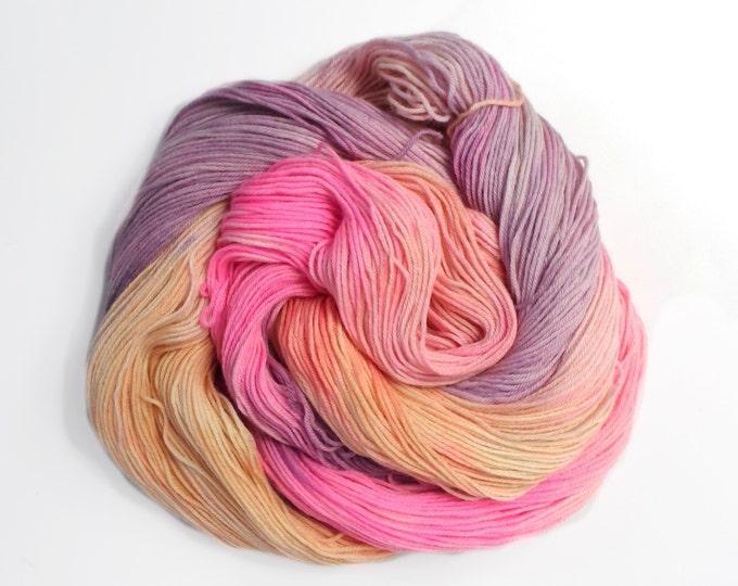 Keep Moving Forward Pastel Variegated Merino Blend 100g Sock Wool Yarn