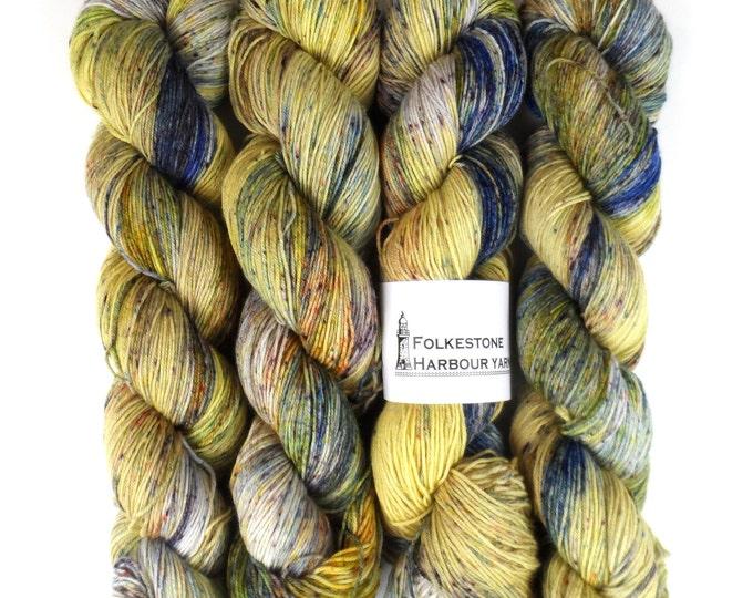 Speckled Iris Merino Blend Sock Yarn 100g