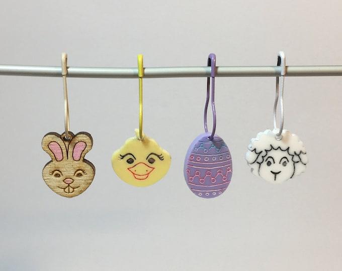 Easter Stitch Marker   set of 4 different designs
