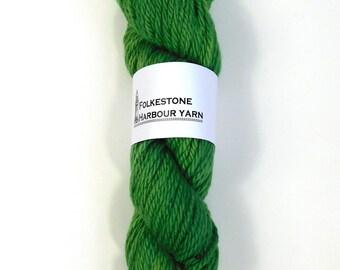 Emerald Green Merino Chunky Wool Yarn 16