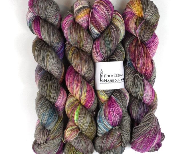 Grey Gardens Speckled 4ply Sock Yarn 100g