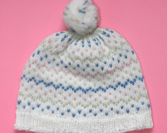Homegrown Hat Kit - Easy Knitting with Natural Dye Colours - 7 Options