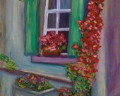 FRENCH WINDOW, 16 x 20 or...