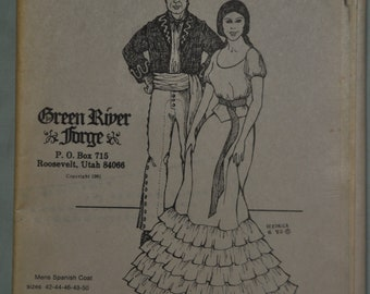 GREEN RIVER FORGE HIGH WAISTED PANT PATTERN