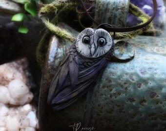 Owl Spirit Animal Necklace. Shamanic Animal Totem Necklace (Free Shipping)