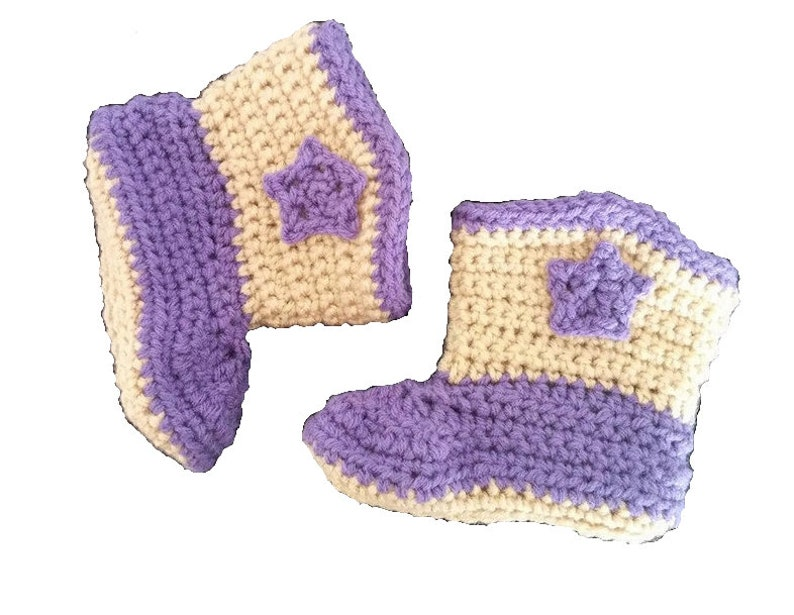 Crochet Boots  Hadley Paige Designs  Made in Canada  image 0
