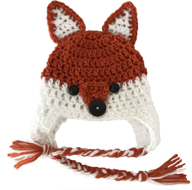 Fox Ear Flap Hat  Hadley Paige Designs  Fall fashion  image 0