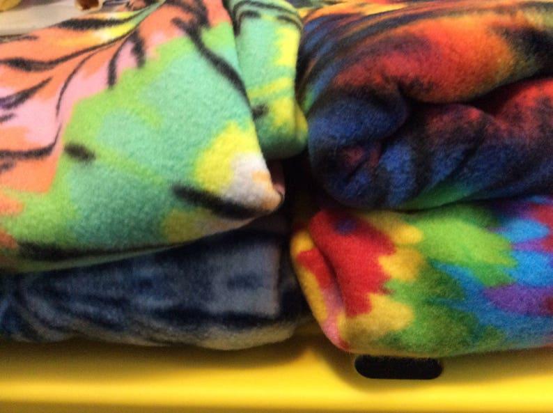 Tie Dye fleece socks boot liners slippers4 STYLES. adult to image 0