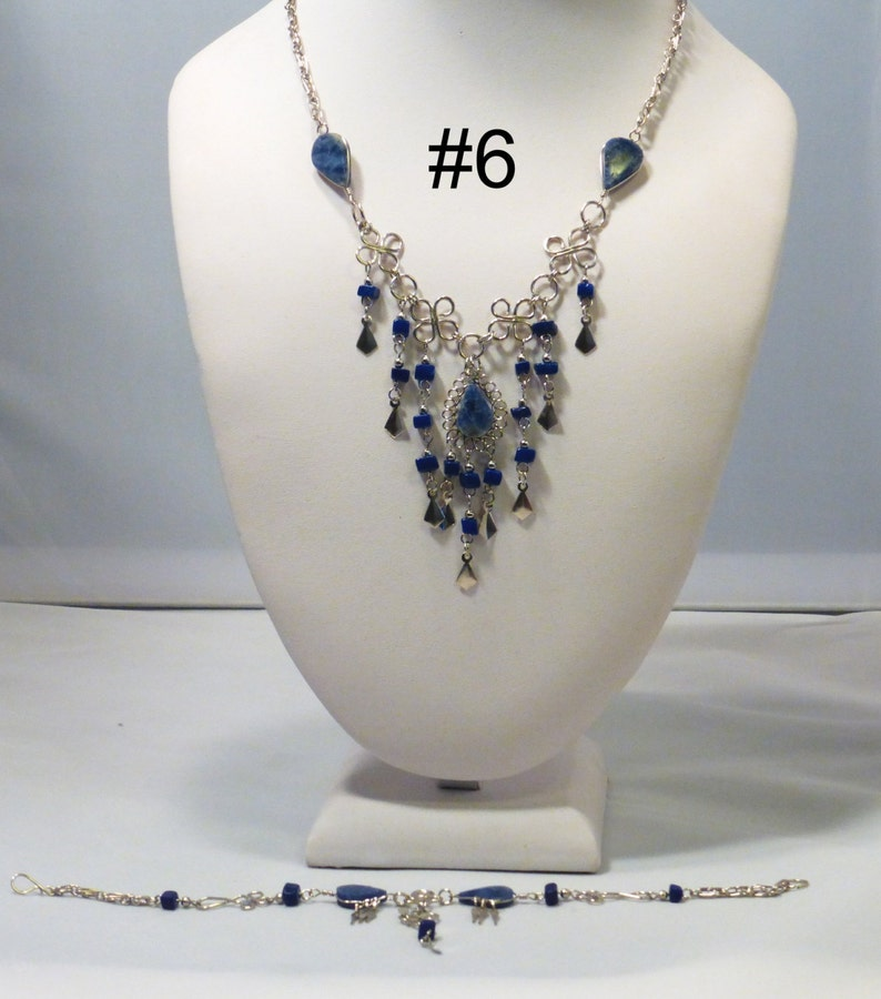 Necklace sets earrings bracelets you choose image 0