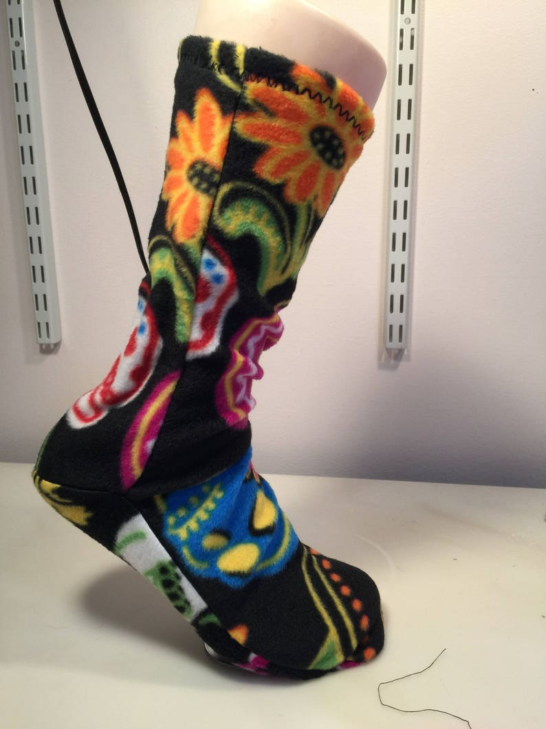 Socks Slippers Boot liners adults and kids polar Fleece image 0