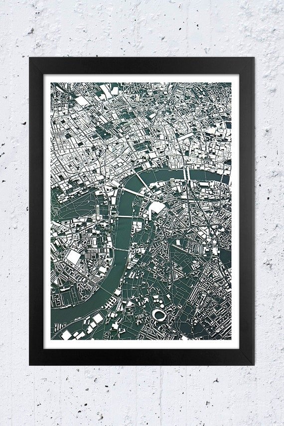 Map Of Central London To Print.London Map London Print Map Print London Poster T