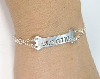 Bone Name Bracelet