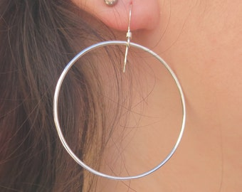 Carrie Hoop Earrings