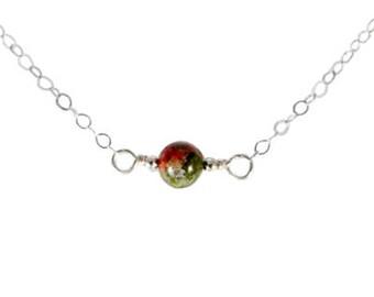 L'Amour Necklace - Unakite