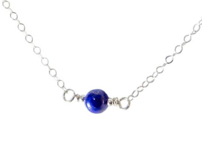 L'amour Necklace - Lapis Lazuli