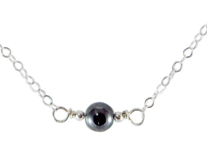 L'amour Necklace - Hematite