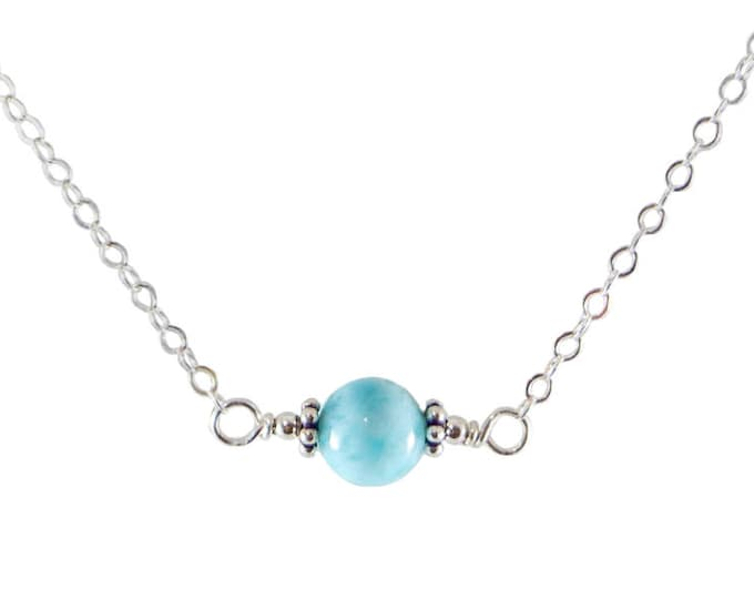 L'amour Necklace - Larimar