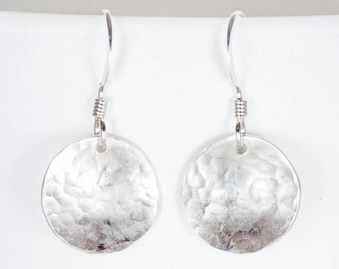 Silver Domed Earrings