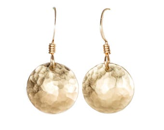 Gold Domed Earrings