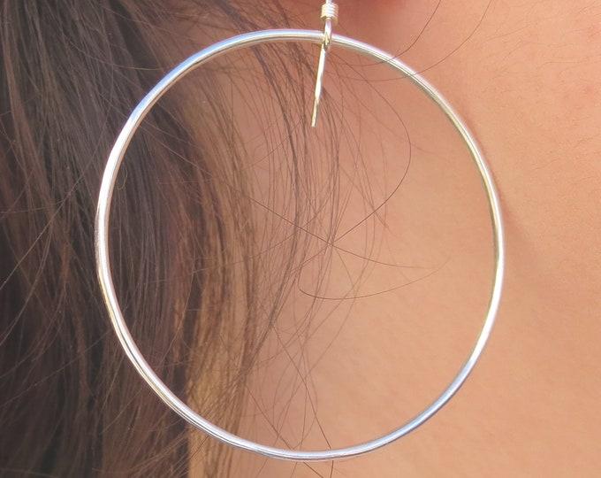 Carrie Hoop Earrings