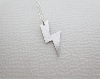 Lightning Bolt Charm Necklace