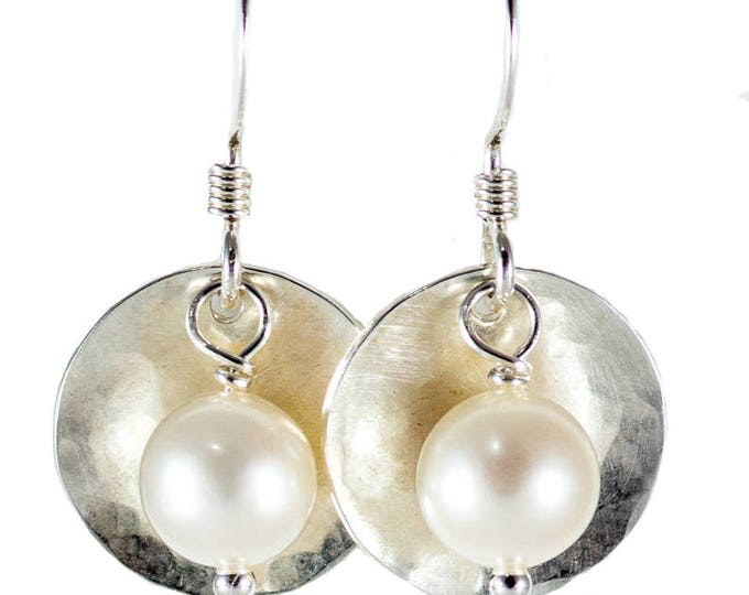 Disc & Bead Earrings