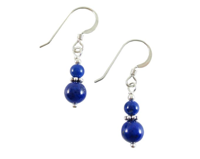 AAA Lapis Lazuli Earrings