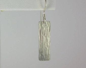 Recantangle Bar Earrings - Texture #7