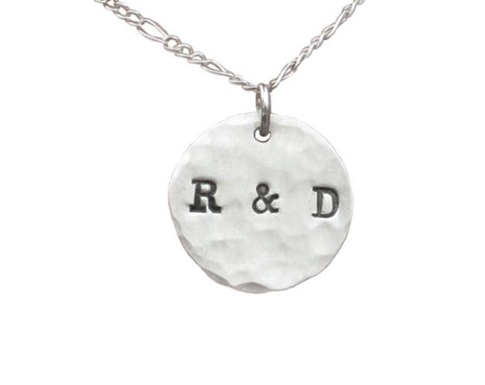 2 Initial Charm Necklace