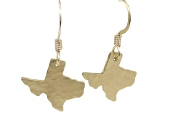 Texas Charm Earrings - Gold and Silver