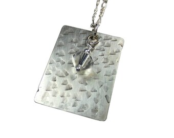 Texture #4 - Dogtag With 6 mm Bead