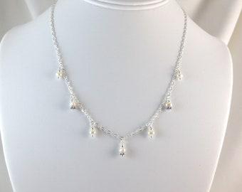 Pearl Necklace - 7 Drop