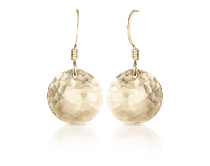 Gold Domed Earrings