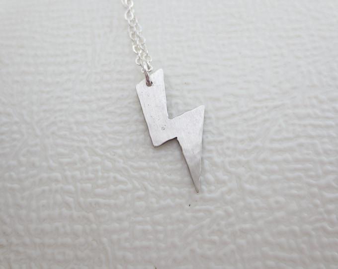 Lightning Bolt Charm Necklace