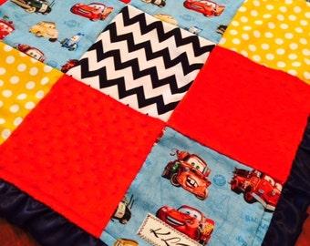 Cars Lightning McQueen Blanket