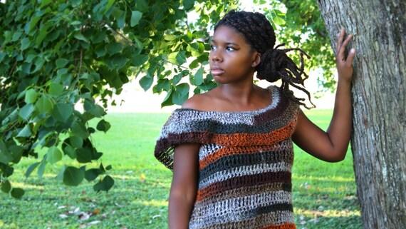 The Nefelibata Tunic Crochet Pattern Instant Download Etsy