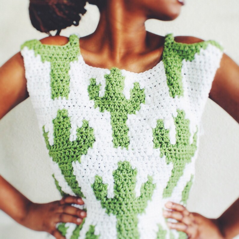 Instant Download! The Can\u2019t Touch This Crochet Crop Top Pattern