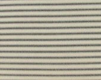 Striped Ticking Crib Sheet