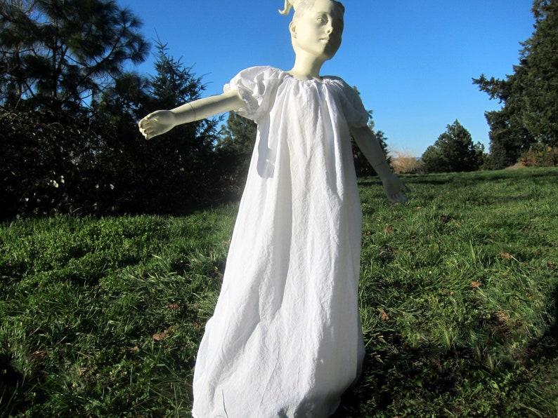 Girls Chemise Dress Medieval Dress Renaissance Dress Girls image 0