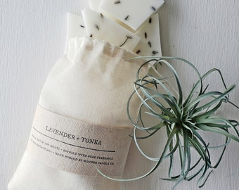 Lavender + Tonka  Soy Wax Melts With Dry Botanicals